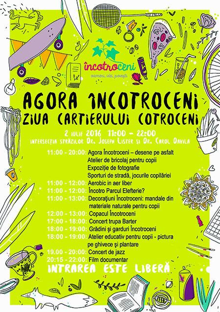 Afis evenimat Agora Incotroceni - Ziua cartierului Controceni